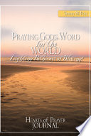 Praying God s Word for the World Lighting Pathways of Blessing