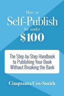 How To Self Publish For Under 100