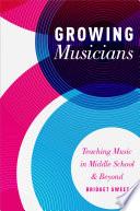 Growing Musicians Book