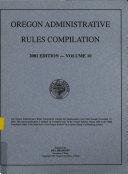 Oregon Administrative Rules Book PDF