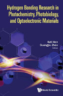 Hydrogen bonding Research In Photochemistry  Photobiology  And Optoelectronic Materials