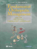 Fundamental Orthopedic Management For The Physical Therapist Assistant Book PDF