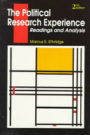 The Political Research Experience Book PDF