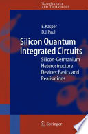 Silicon Quantum Integrated Circuits