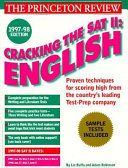 Cracking the Sat II Book