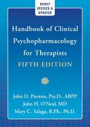 Handbook Clinical Psychopharmacology Book
