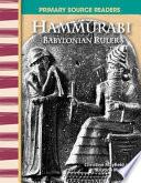 Hammurabi  Babylonian Ruler