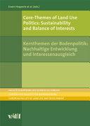 Core-Themes of Land Use Politics