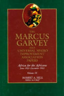 The Marcus Garvey and Universal Negro Improvement Association Papers, Vol. IX