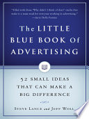The Little Blue Book of Advertising Book