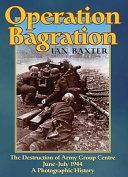 Operation Bagration Book