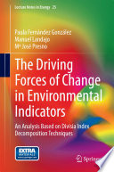 The Driving Forces Of Change In Environmental Indicators Book PDF