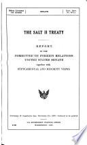 The SALT II Treaty Book
