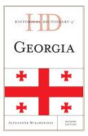Historical Dictionary of Georgia [Pdf/ePub] eBook
