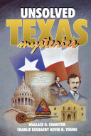 Unsolved Texas Mysteries Book