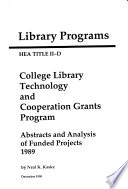 Library Programs Book PDF