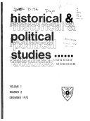 Historical Political Studies