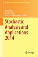 Stochastic Analysis and Applications 2014