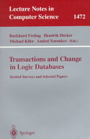 Transactions and Change in Logic Databases