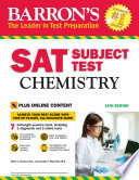 Barron s SAT Subject Test  Chemistry with Online Tests