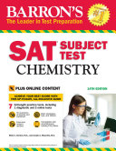 Barron's SAT Subject Test: Chemistry with Online Tests