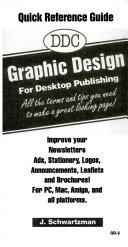 DDC Graphic Design for Desktop Publishing