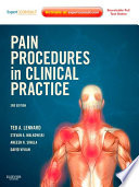Pain Procedures In Clinical Practice E Book Book PDF