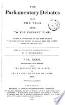 The Parliamentary Debates From The Year 1803 To The Present Time 07 PDF