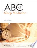 Abc Of Sleep Medicine Book PDF