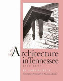 Architecture in Tennessee  1768 1897