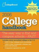 College Handbook 2006