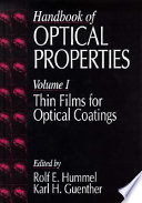 Handbook of Optical Properties Book