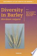Diversity in Barley (Hordeum vulgare)