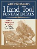 American Woodworker s Hand Tool Fundamentals