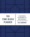 The Time Block Planner Book PDF