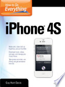 How to Do Everything iPhone 4S Book
