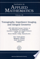 Tomography  Impedance Imaging  and Integral Geometry Book
