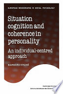 Situation Cognition And Coherence In Personality Book PDF