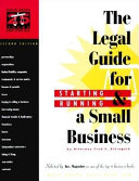 The Legal Guide for Starting   Running a Small Business