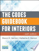 """The Codes Guidebook for Interiors"" by Sharon K. Harmon, Katherine E. Kennon"