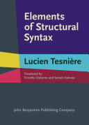 Elements of Structural Syntax