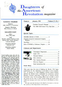 Daughters of the American Revolution Magazine Book