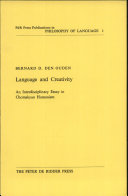 Language and Creativity: An Interdisciplinary Essay in ...