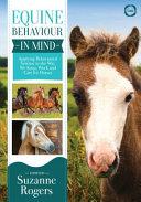 Equine Behaviour In Mind Book PDF