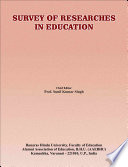 Survey Of Researches In Education