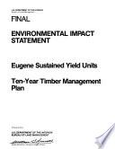 Eugene Timber Management Book