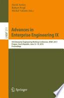 Advances in Enterprise Engineering IX