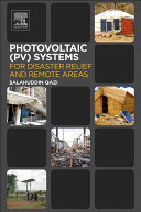 Photovoltaic Systems for Disaster Relief and Remote Areas Book