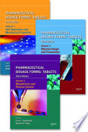 """Pharmaceutical Dosage Forms Tablets"" by Larry L. Augsburger, Stephen W. Hoag"