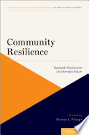 Community Resilience Book